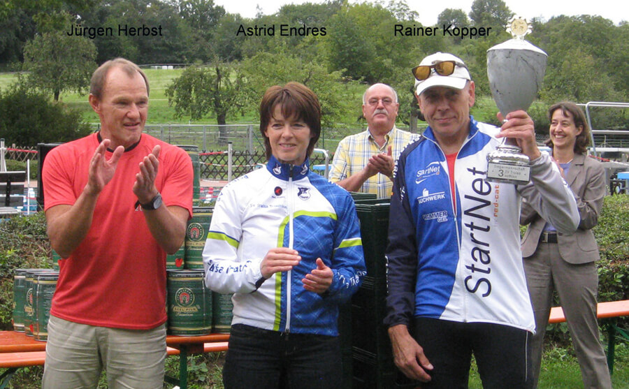 SV3sathlon auch 2011 wieder mit regem Zuspruch