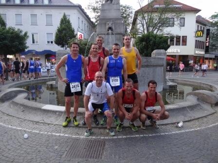 Triathleten verteidigen Mannschaftstitel beim Darmstädter Stadtlauf