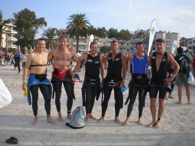 Triathleten auf Mallorca