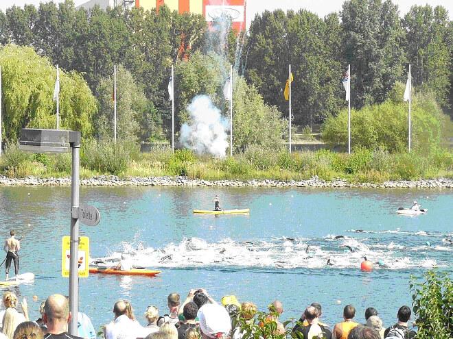 Triathleten erfolgreich beim Cologne Triathlon