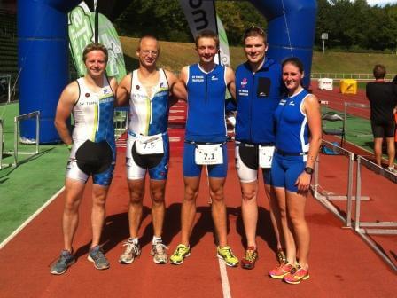Letzter Wettkampf der 5. Hessenliga – Teamrennen in Baunatal