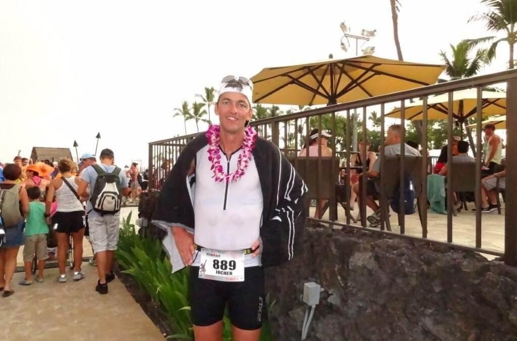 Ironman Jochen Baumgarten finisht auf Hawaii!!!