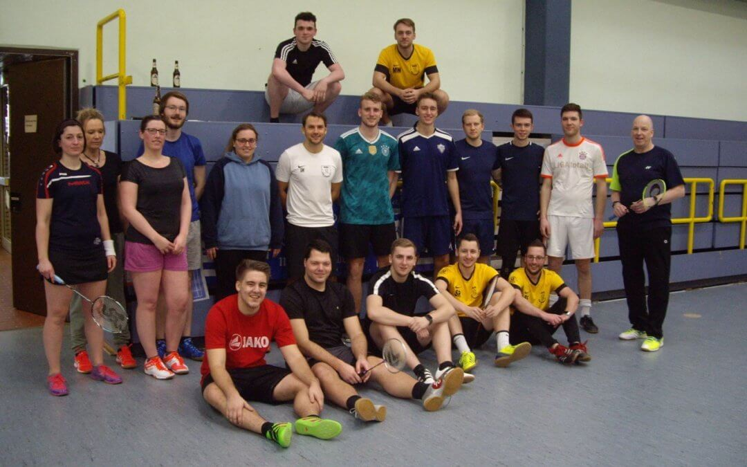 Fußball trifft Badminton