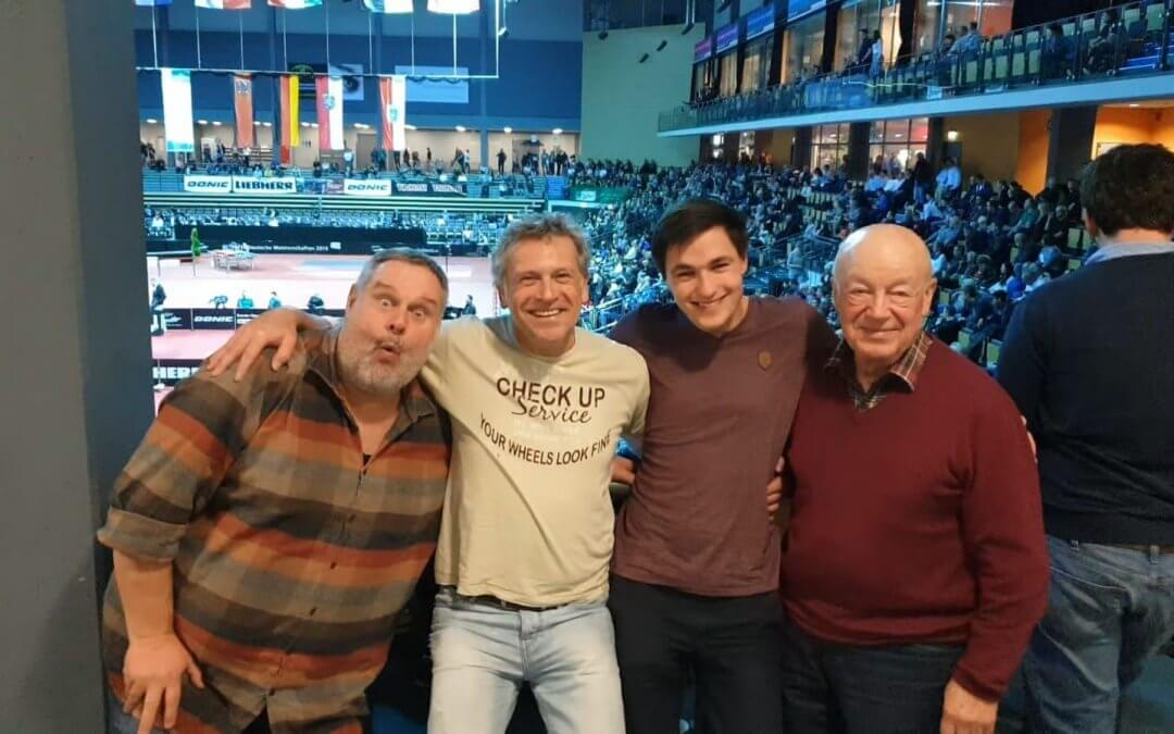 Besuch der Deutschen Tischtennis Meisterschaften 2019