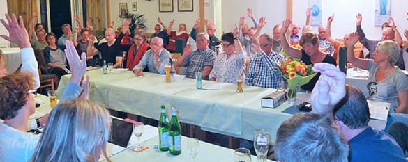 Mitgliederversammlung des SV 1911 Traisa e.V.