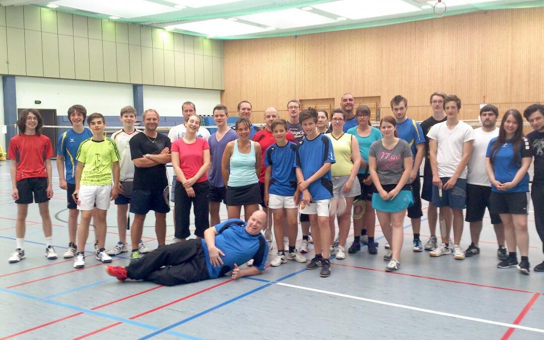 Vereinsinterne Badmintonturniere