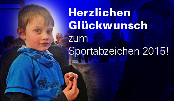 Sportabzeichenehrung 2015