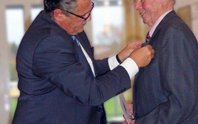 Verleihung des Landesehrenbriefes an Klaus Valter