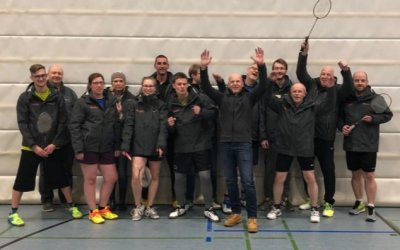 Update: Badminton-Mannschaft bislang ungeschlagen in der Hobbyliga Hessen-Süd