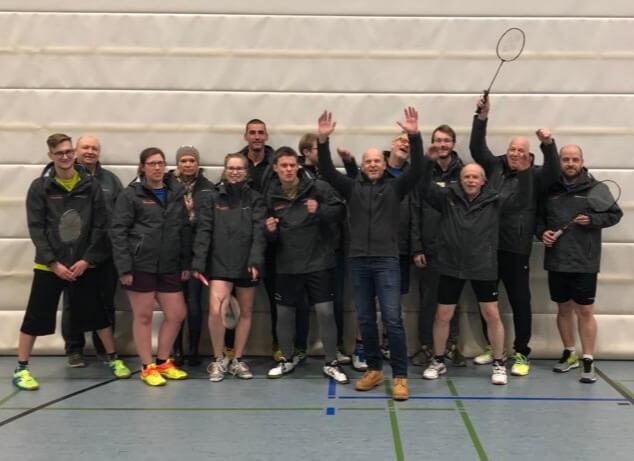 Badminton-Mannschaft bislang ungeschlagen in der Hobbyliga Hessen-Süd
