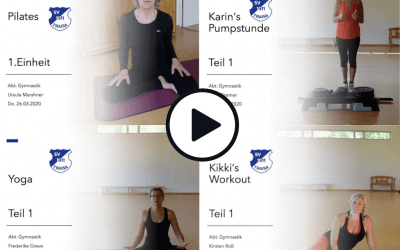 Trainingsvideos online!