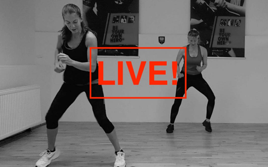 Live Sport mit Karin machen!